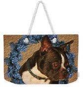 Boston Terrier Love Weekender Tote Bag