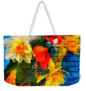 Botanical Graffiti  Weekender Tote Bag