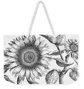 Botany: Sunflower Weekender Tote Bag