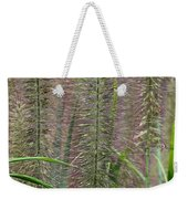 Bottle Brush Grass Weekender Tote Bag