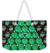 Bottle Caps Christmas Tree Weekender Tote Bag