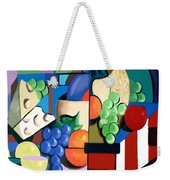 Bottle Of Wine Fruit Of The Vine Weekender Tote Bag