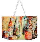 Bottles And Glasses And Mugs 03 Weekender Tote Bag