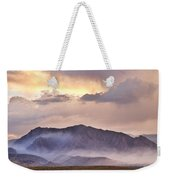 Boulder Colorado Flatirons And The Flagstaff Fire Weekender Tote Bag