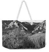 Boulder Colorado Front Range Ncar View Weekender Tote Bag