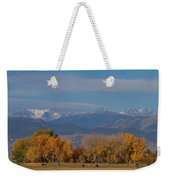 Boulder County Colorado Continental Divide Autumn View Weekender Tote Bag by James BO  Insogna