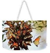 Bouquet Of Butterflies Weekender Tote Bag