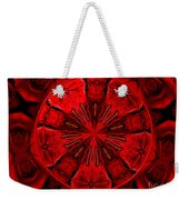Bouquet Of Roses Kaleidoscope 6 Weekender Tote Bag