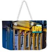 Bourbon Live - French Quarter Weekender Tote Bag