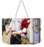 Bourbon Street In Daylight - Santa's Helper Weekender Tote Bag