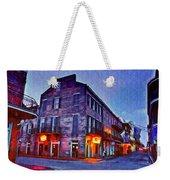 Bourbon Street In The Quiet Hours Weekender Tote Bag
