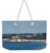 Bournemouth Pier In Dorset Weekender Tote Bag