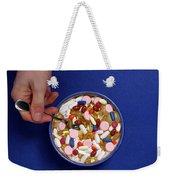 Bowl Of Pills Weekender Tote Bag
