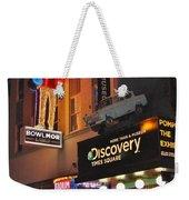 Bowlmor Lanes At Times Square Weekender Tote Bag