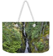Box Canyon With Flowing Stream, Mount Weekender Tote Bag