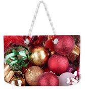 Box Of Christmas Decorations  Weekender Tote Bag