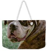Boxer Smiles Weekender Tote Bag
