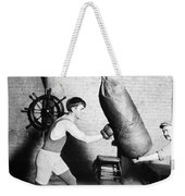 Boxing: Bat Nelson, 1920 Weekender Tote Bag