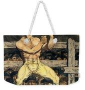 Boxing Champion, 1790s Weekender Tote Bag