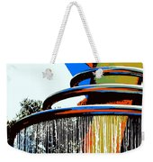 Boyd Plaza Fountain Weekender Tote Bag