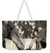 Boys Playing Poker, 1909 Weekender Tote Bag