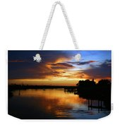 Braden River Sunset Weekender Tote Bag