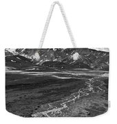 Braided River Weekender Tote Bag