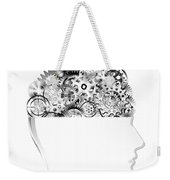 Brain Design By Cogs And Gears Weekender Tote Bag