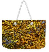Branches Of Gold Weekender Tote Bag