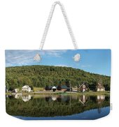 Brant Lake Reflections Weekender Tote Bag