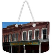 Brass Rail Saloon Weekender Tote Bag