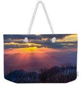 Brasstown Sunset Weekender Tote Bag