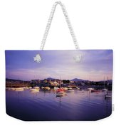 Bray Harbour, Co Wicklow, Ireland Weekender Tote Bag
