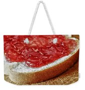 Bread And Jelly Weekender Tote Bag