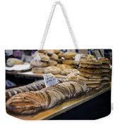 Bread Market Weekender Tote Bag by Heather Applegate
