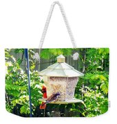 Breakfast Weekender Tote Bag