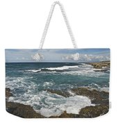 Breaking Waves 7919 Weekender Tote Bag