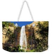 Bridal Veil Falls At Yosemite Weekender Tote Bag