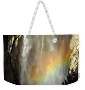Bridal Veil Rainbow Weekender Tote Bag