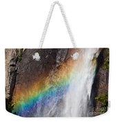 Bridalveil Fall Rainbow Weekender Tote Bag