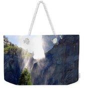Bridalveil Falls In Yosemite Weekender Tote Bag