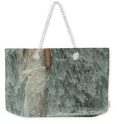 Bride Below Dam Weekender Tote Bag