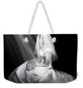 Bride In Cascading Light Weekender Tote Bag