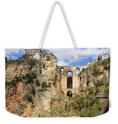 Bridge In Ronda Weekender Tote Bag