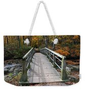 Bridge Into Autumn Weekender Tote Bag