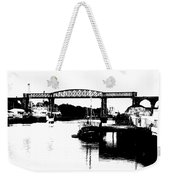 Bridge On The Boyne Weekender Tote Bag