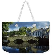 Bridge Over A River In Front Of Weekender Tote Bag