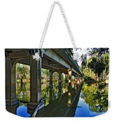 Bridge Over Ovens River Weekender Tote Bag by Kaye Menner