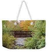 Bridge Over River Weekender Tote Bag