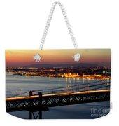 Bridge Over Tagus Weekender Tote Bag